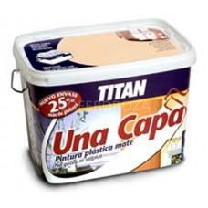 PINTURA PLAST 1 CAPA AZUL    TITAN    5 L